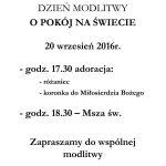 DZIEŃ MODLITWY