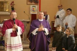 12.03.2017 - Wizyta Kanoniczna Ks. Biskupa Tadeusza Lityńskiego -  godz. 11.30