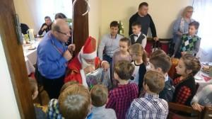 07.01.2018 - Spotkanie opłatkowe dla dzieci I Komunijnych i Rodziców
