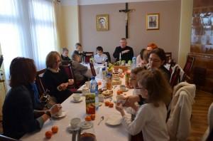 Spotkanie opłatkowe rodziców i dzieci przygotowujących się do Pierwszej Komunii Świętej