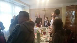 27.12.2017 - Spotkanie opłatkowe dla młodzieży przygotowującej się do sakramentu Bierzmowania z grupy Pana Mariusza