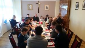06.01.2018 - Spotkanie opłatkowe Liturgicznej Służby Ołtarza i Rodziców
